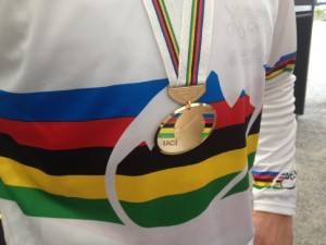 world champs medal